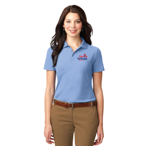 Family Heritage - Port Authority® Ladies Stain-Resistant Polo