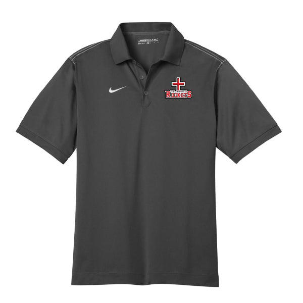 Rockets - Nike Dri-FIT Sport Swoosh Pique Polo