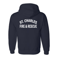 St. Charles Fire - Gildan® - Heavy Blend™ Hooded Sweatshirt - Navy