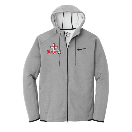 Rockets - Nike Therma-FIT Textured Fleece Full-Zip Hoodie