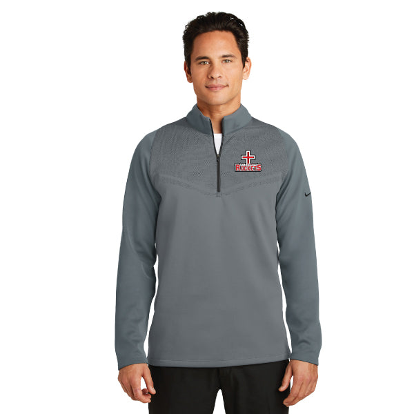 Rockets - Nike Therma-FIT Hypervis 1/2-Zip Cover-Up