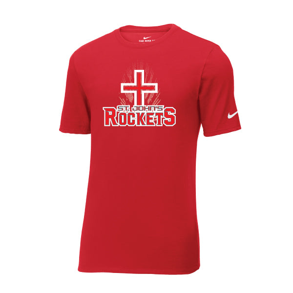 Rockets - Nike Core Cotton Tee - Red