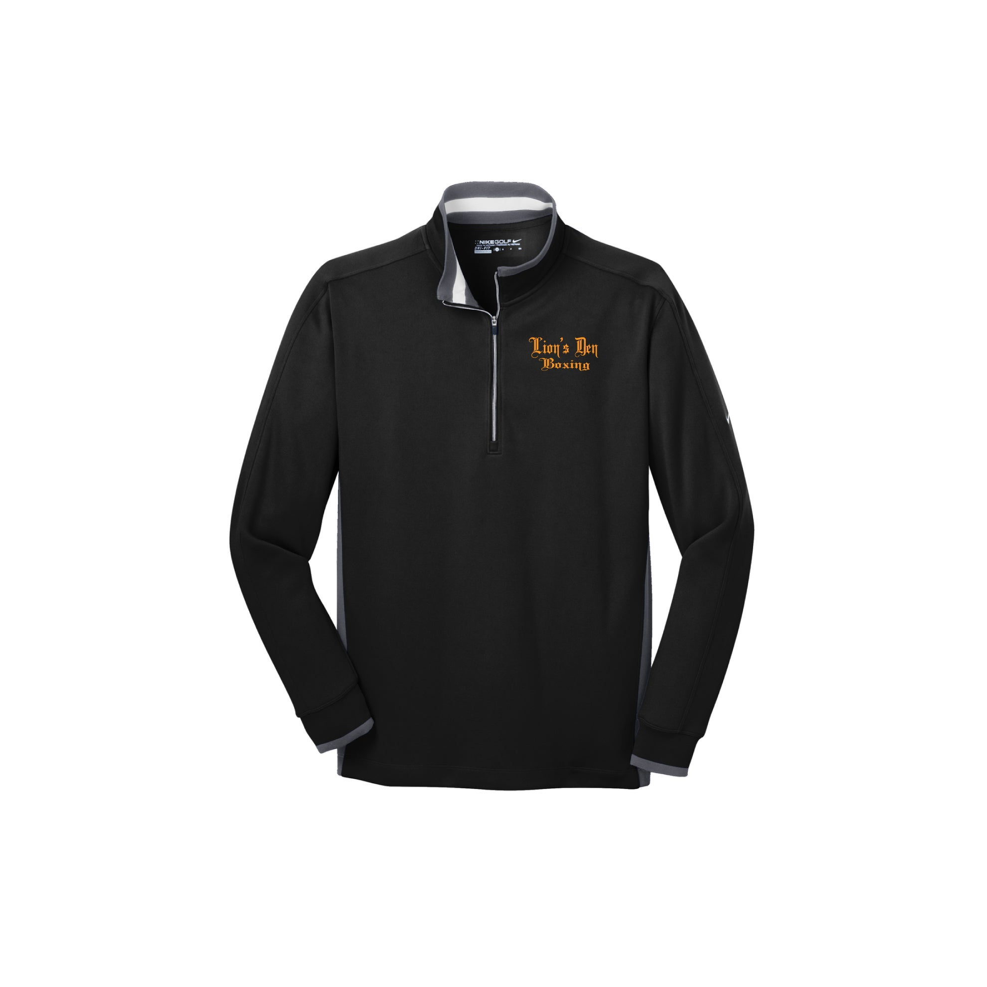 Lion's Den Boxing - Nike Dri-FIT 1/2-Zip Cover-Up - Embroidered