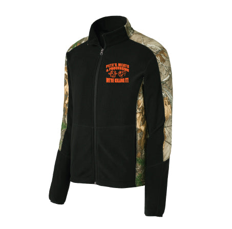 Port Authority® Camouflage Microfleece Full-Zip Jacket