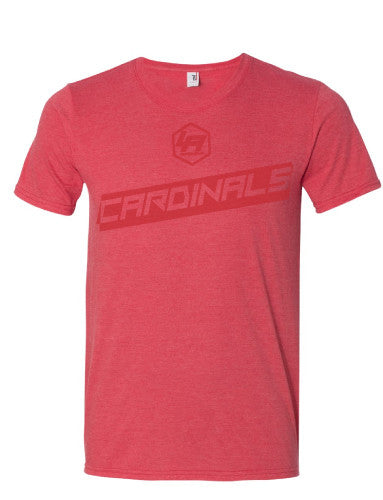 LA Cardinals Red on Red Sublimated Fashion Tee