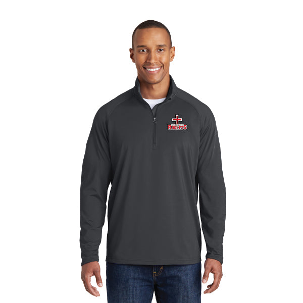 Rockets - Sport-Wick® Stretch 1/2-Zip Pullover - Grey