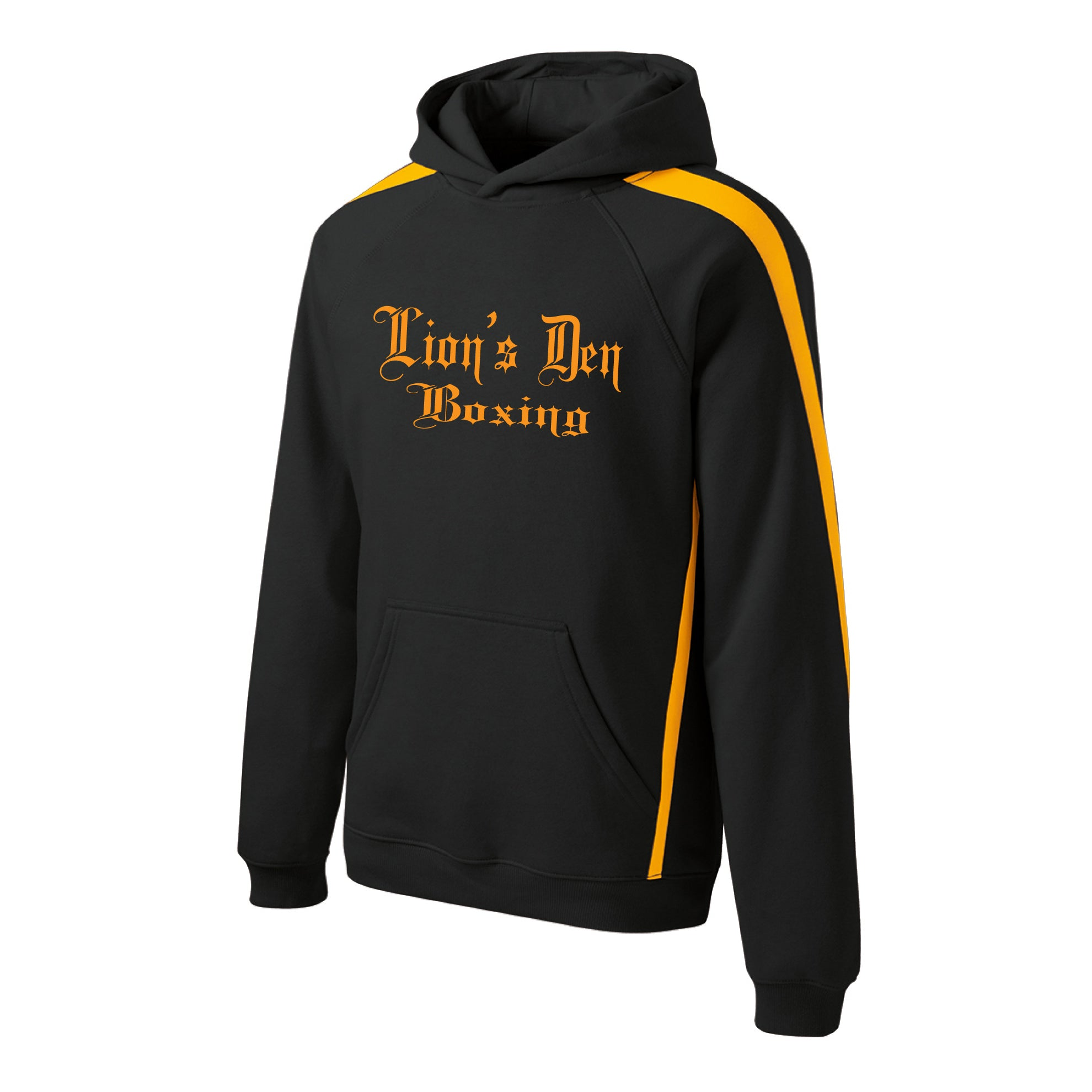 Lion's Den Boxing - Sport-Tek® Sleeve Stripe Pullover Hooded Sweatshirt