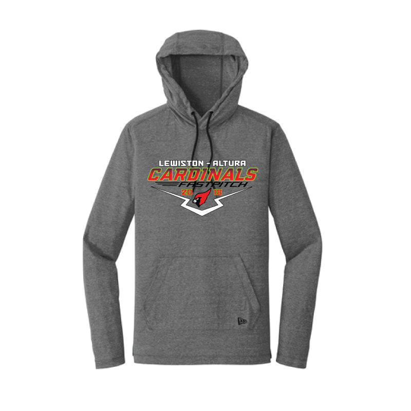 New Era® Tri-Blend Performance Pullover Hoodie Tee - NEA131