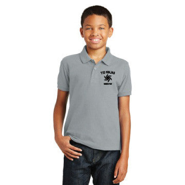T1D Ninjas - Port Authority® Youth Core Classic Pique Polo. Y100