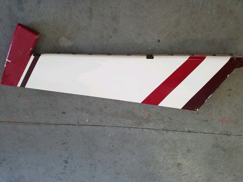 Cessna early 206 land plane rudder