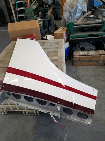 Cessna early P206 Vertical Fin assembly