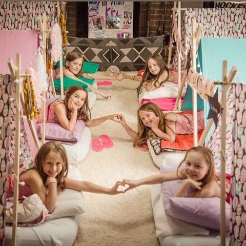 Oakville, Milton, Georgetown, Halton tent parties, Tent party, slumber party, sleepover party