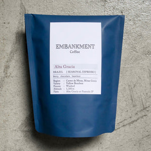【NEW】Alta Gracia /  BRAZIL - SEASONAL ESPRESSO - アルタグラシア《LIGHT ESPRESSO ROAST》