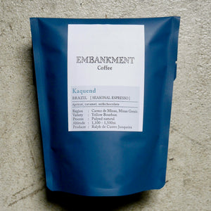 【販売終了】Kaquend  /  BRAZIL - SEASONAL ESPRESSO - カクェンジ《ESPRESSO ROAST》