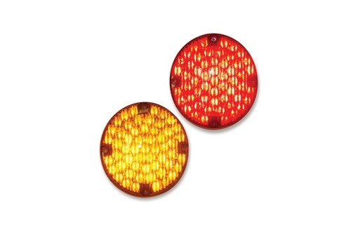 "SB7™ 7"" Round School Bus Warning Light - Interstate Signal"