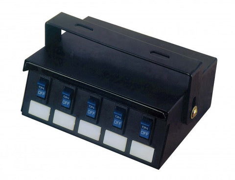 Universal 5 Switch Control Panel - Interstate Signal