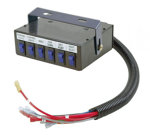 Universal 6 Switch Control Panel - Interstate Signal