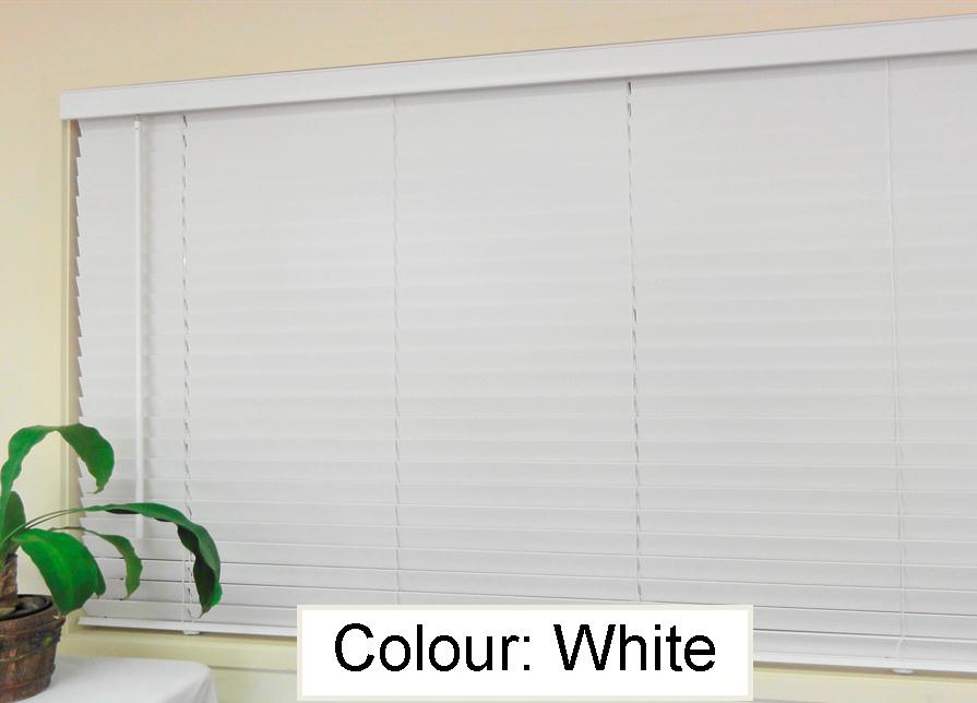 Basswood Venetian Blind - White 50mm