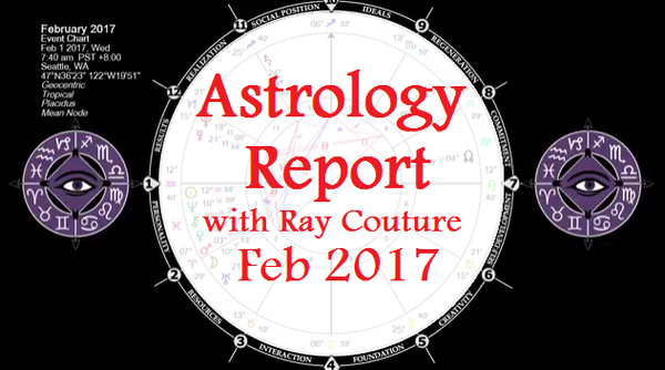 Astrology Report & Horoscope for February 2017