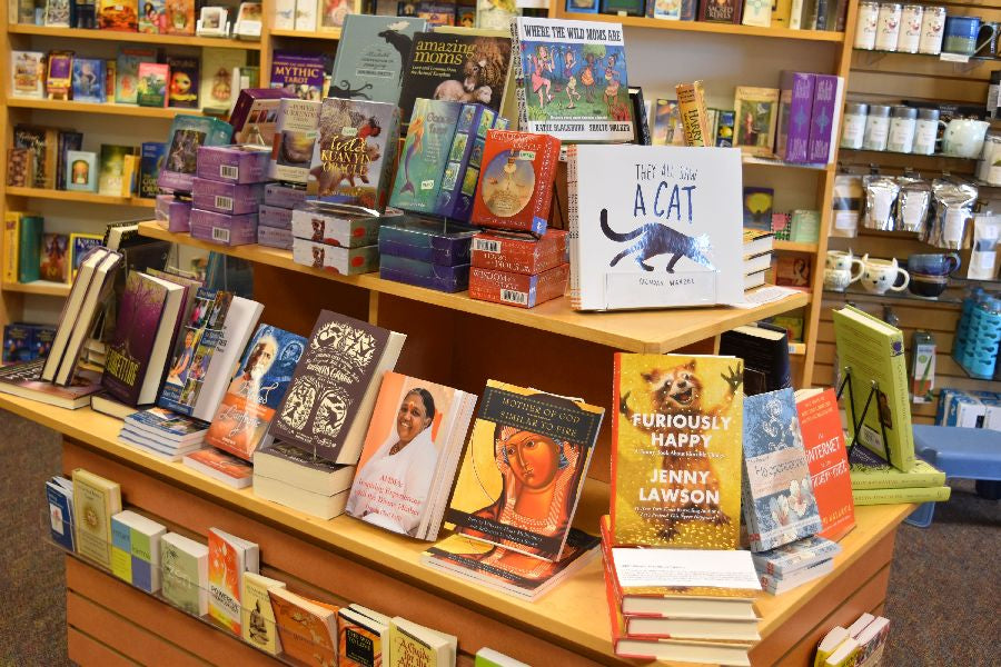 Books to interest and uplift at East West Bookshop!