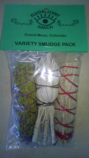 Variety Smudge Pack
