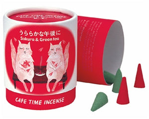 Cafe Time Cone Incense