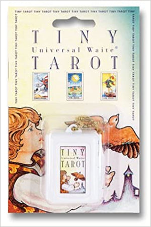 Tiny Universal Waite Keychain Tarot Deck by