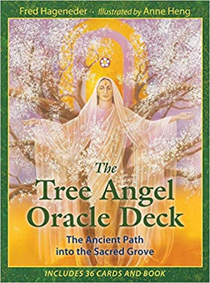 Tree Angel Oracle Deck: The Ancient Path Into The Sacred Gro by Fred Hageneder