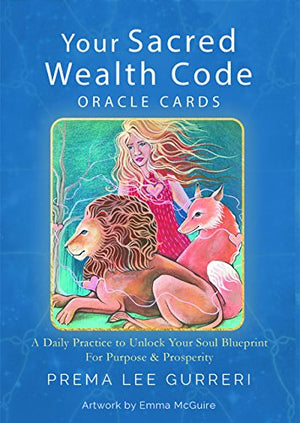 Your Sacred Wealth Code Oracle Cards by Pamela Gurreri