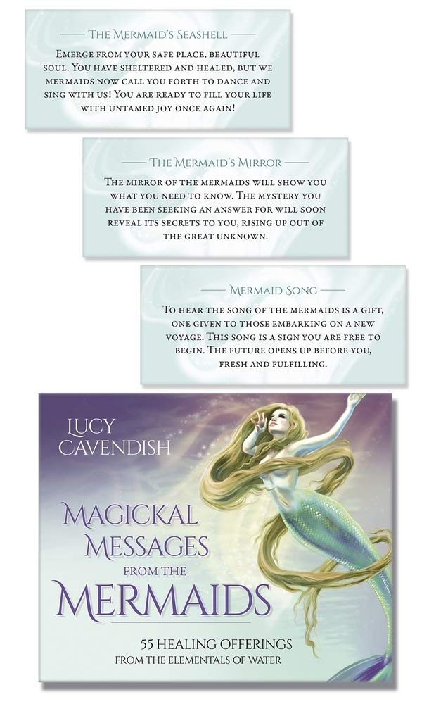 Magickal Messages From The Mermaids: Healing Offerings From by Lucy Cavendish