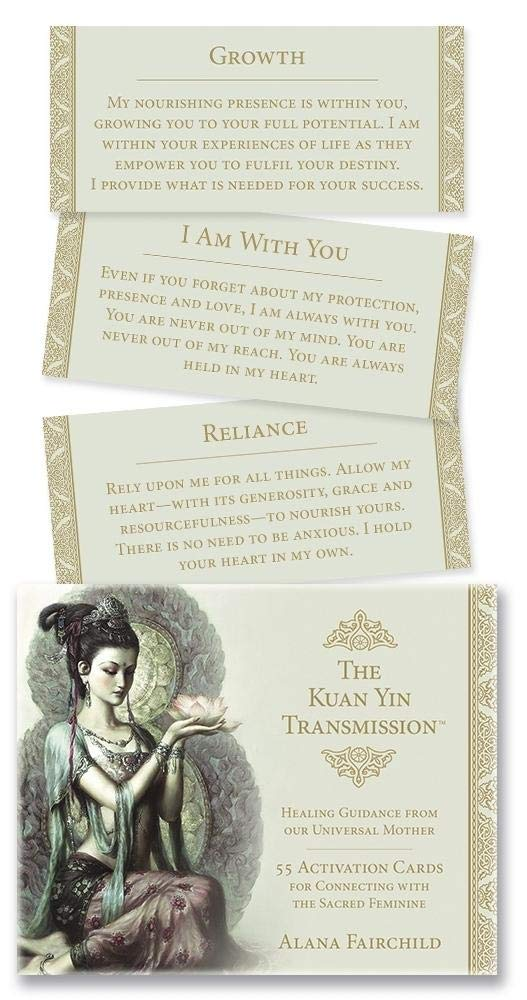 Kuan Yin Transmission Deck: Healing Guidance From Our Univer by Alana Fairchild