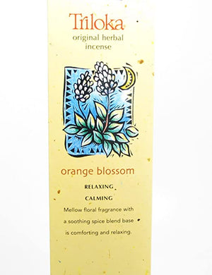 Triloka Incense Orange Blossom