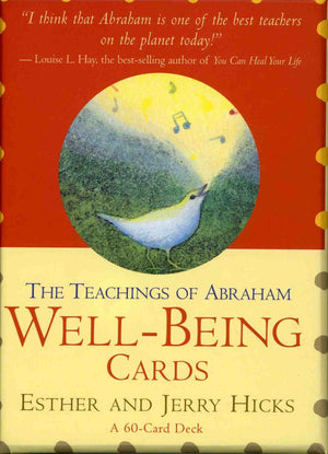 Abrahamhicks Well Being Cards by Esther Hicks