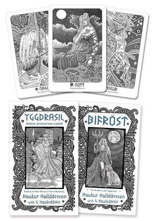Yggdrasil: Norse Divination Cards by Haukur Halldorsson