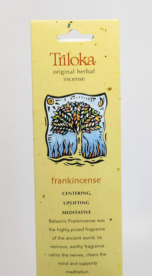 Triloka Incense Frankincense