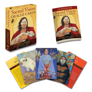Sacred Vision Oracle Cards by Lynn V Andrews