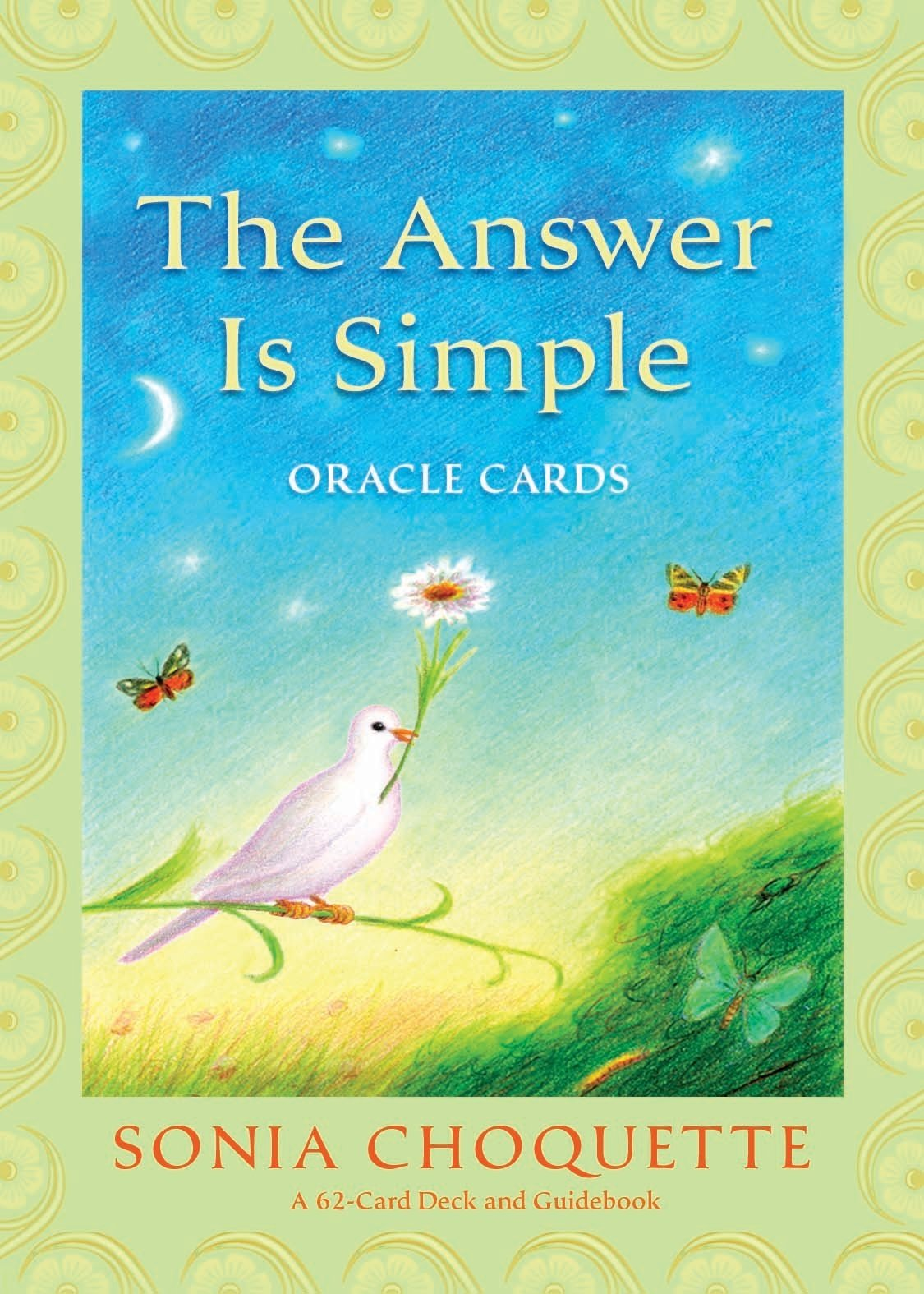Answer Is Simple Oracle Cards by Sonia Choquette