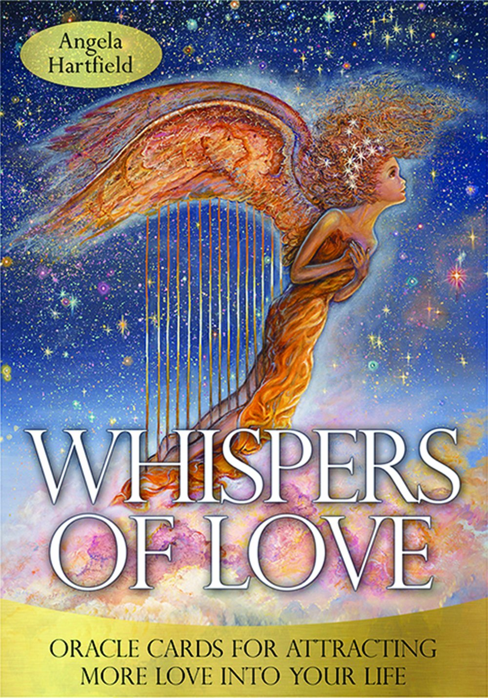 Whispers Of Love Oracle Cards by Angel Hartfield