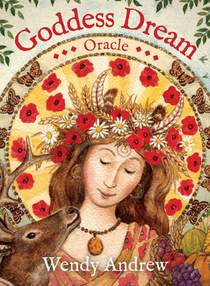 Goddess Dream Oracle: Book  Cards by Wendy Andrew