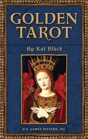 Golden Tarot Wbk by Kat Black