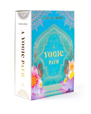Yogic Path Oracle Deck And Guidebook Keepsake Box Set