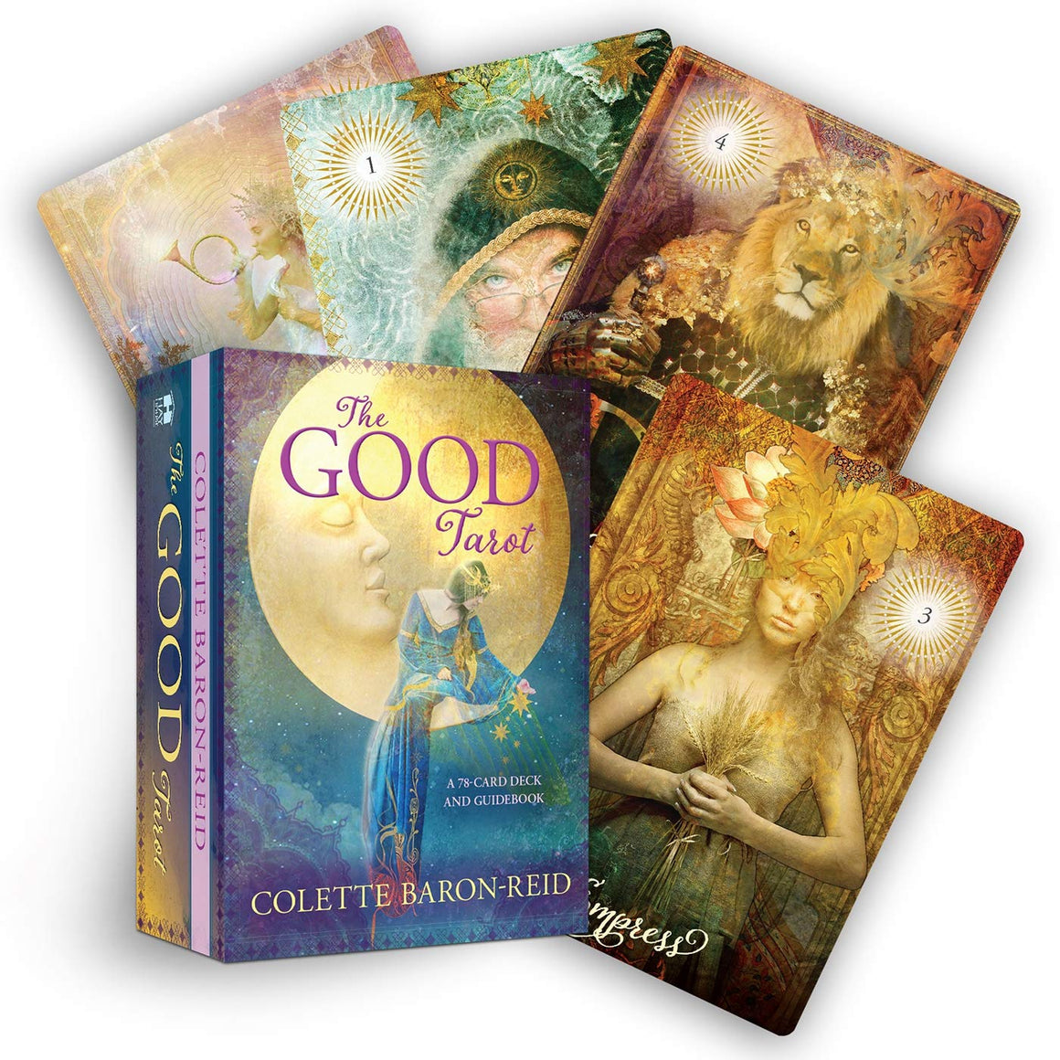 Good Tarot A 78 Card Deck And Guidebook by Colette Baron-Reid