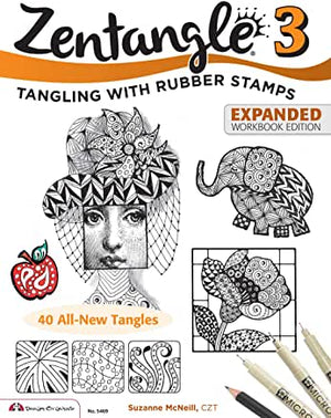 Zentangle 3 Expanded Workbk E by Suzanne McNeill