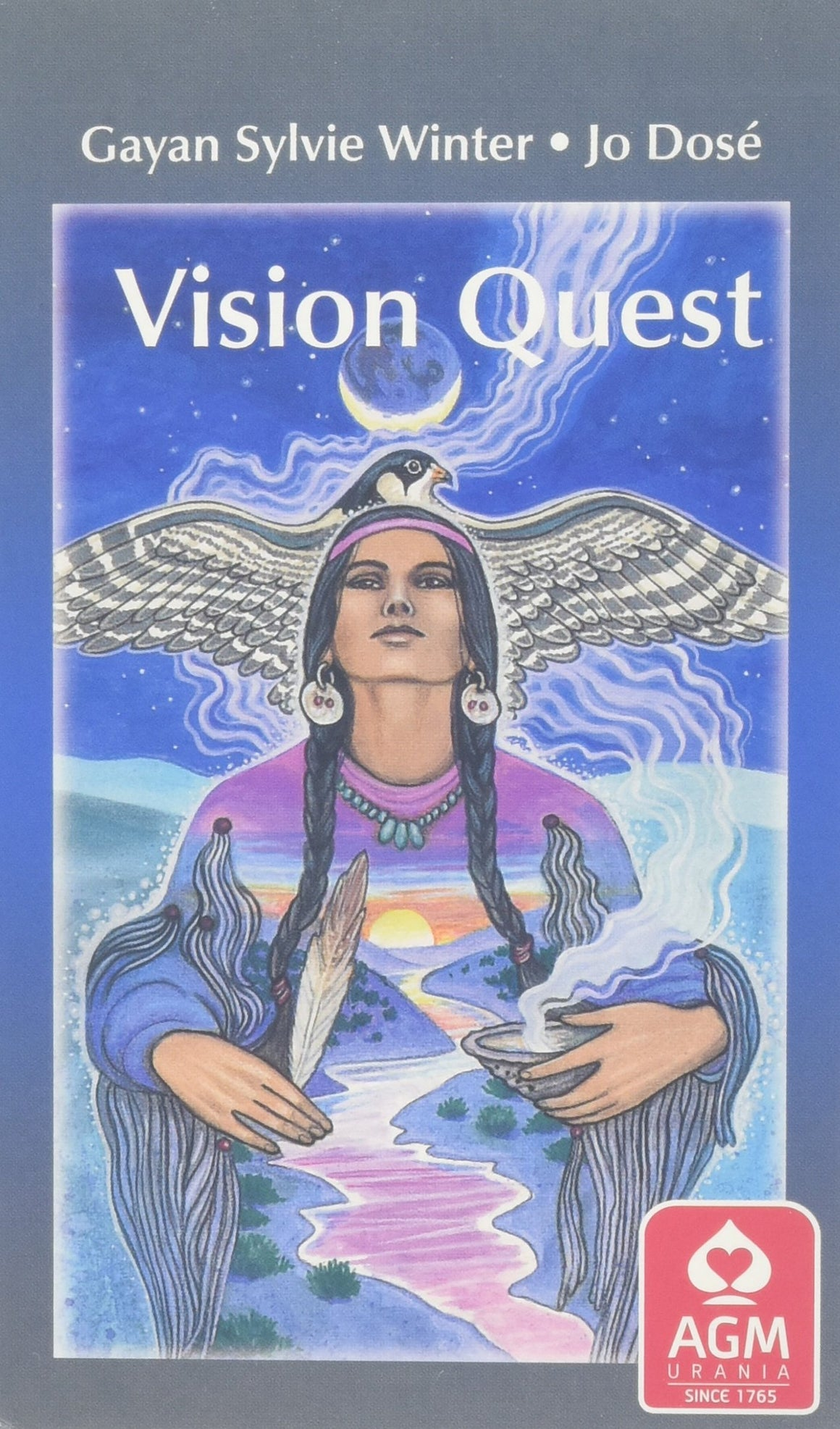 Vision Quest Tarot Deck by G Winter