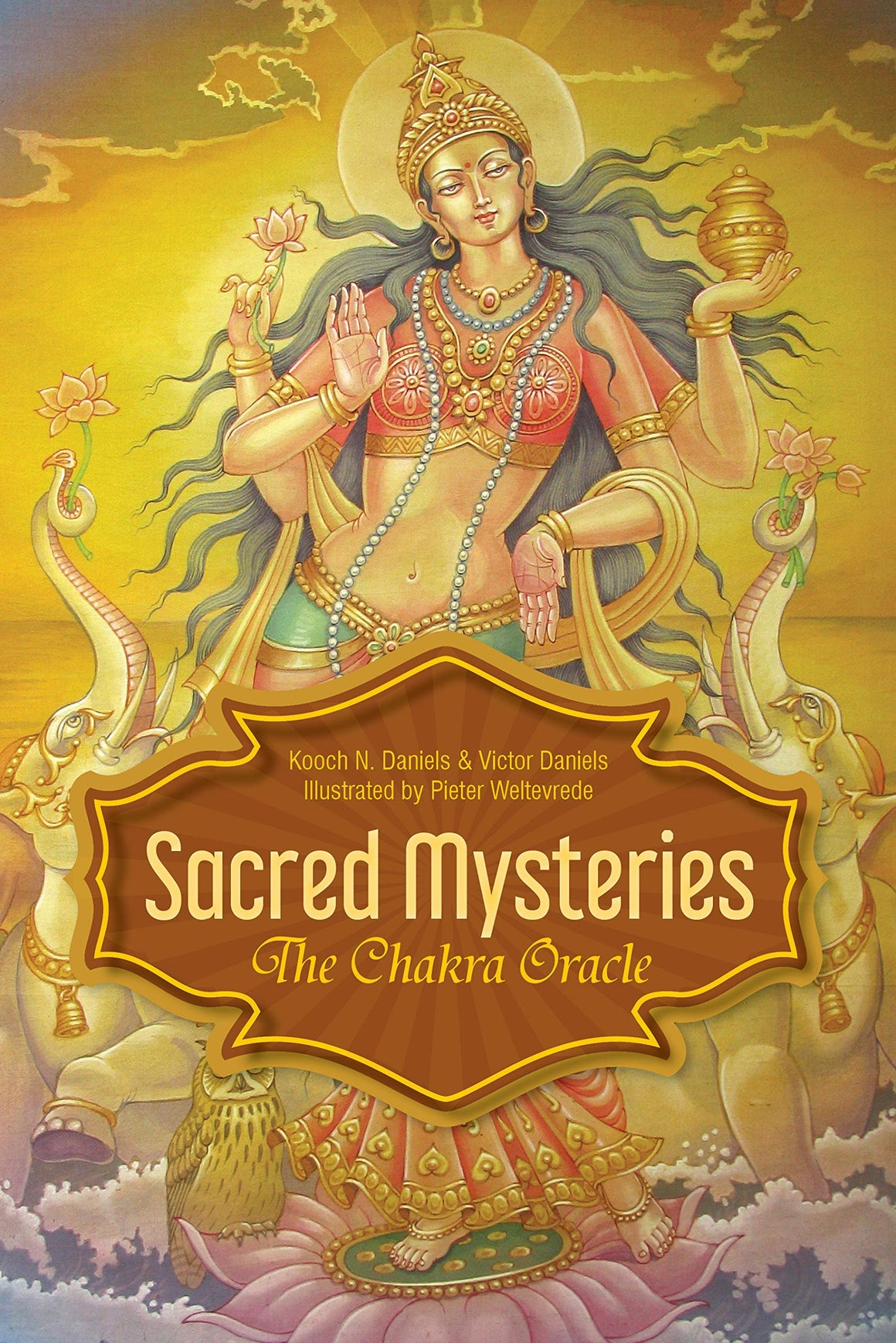 Sacred Mysteries: The Chakra Oracle by Kooch N Daniels