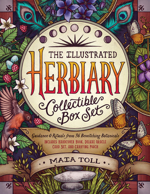 Illustrated Herbiary Collectible Box Set by Maia Toll