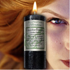 Affirmation Blessed Candle - Guardian Protector