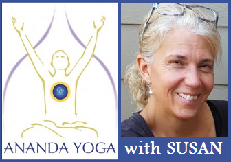 October 01, 2018 - Monday 6-7:15pm - PM Evening Ananda Yoga - with Susan Hoyt
