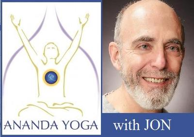 October 30, 2017 - Monday 12-1:15pm - Ananda Yoga - with Jon Clark