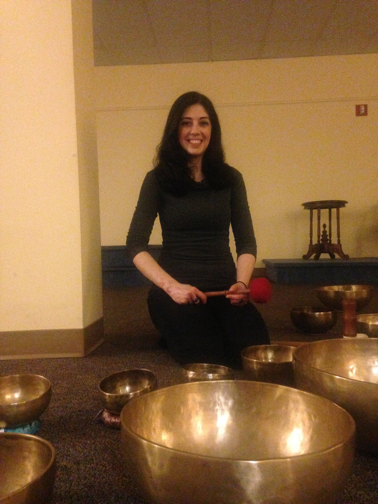 October 22, 2017 - Sunday 5-6pm - Space Clearning with Singing Bowls - with Maria Ayanna
